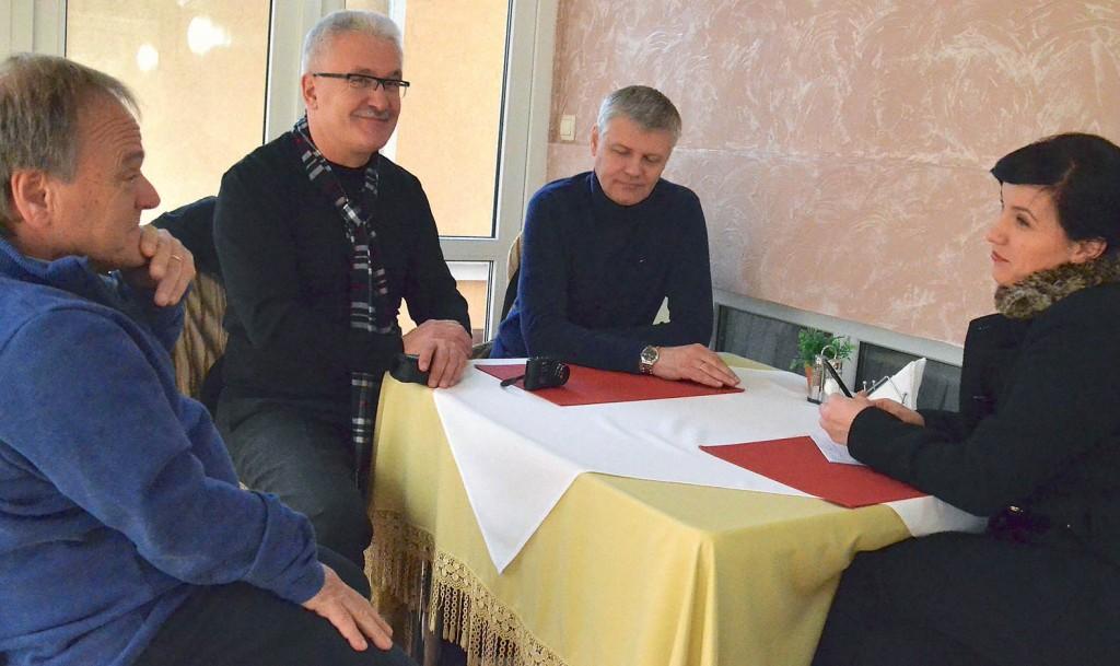 2013 12 15 Tatiana - Cusnir - Bendelic - Hans Bjørn på Hotel Arus