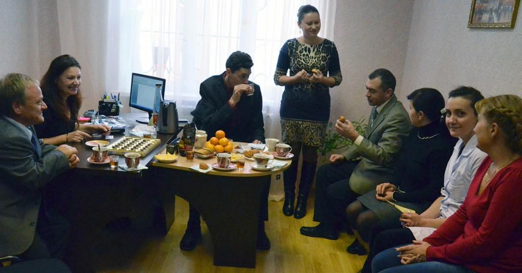 2013 12 18 Møte på baarnehagekontoret Tiraspol