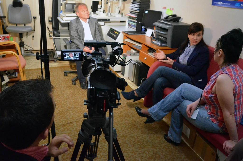 220414 Opptak HBB TV Publica på Senteret