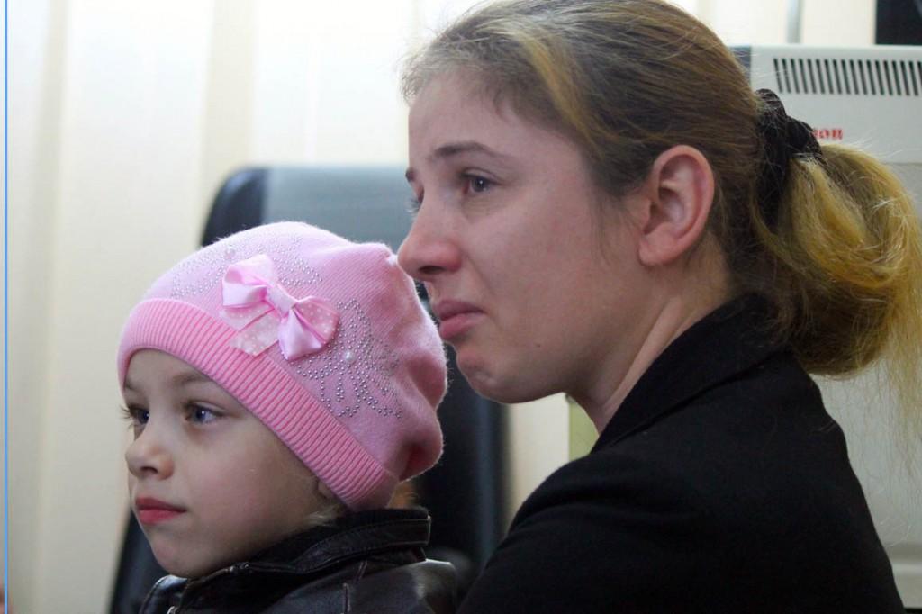 2014 10 Mor og dotter på senteret
